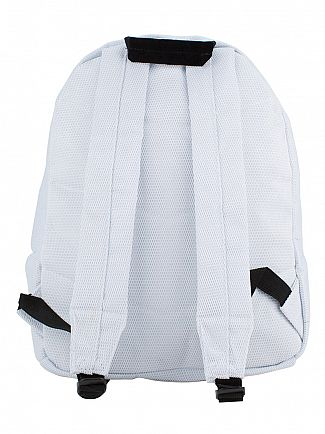 Hype White Mesh Arch Logo Backpack
