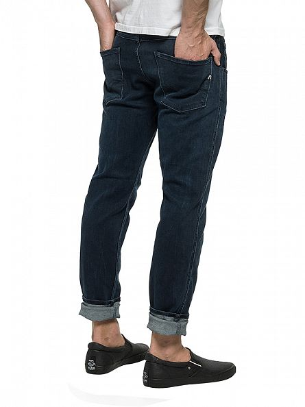 Replay Dark Denim Anbass Slim Fit Jeans