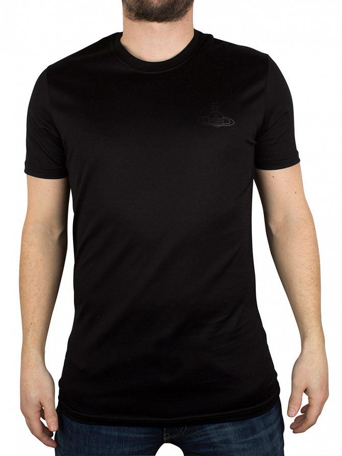 Vivienne Westwood Black Plain Logo T-Shirt