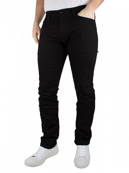 Hilfiger Denim Black Comfort Scanton Slim Fit Jeans