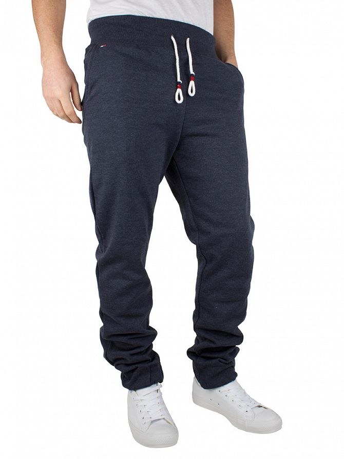 Hilfiger Denim Black Iris Navy Basic Logo Joggers