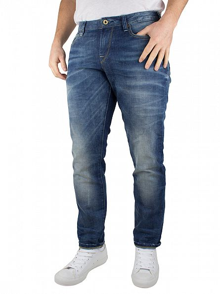 Scotch & Soda Light Denim Catch 22 Tailored Slim Fit Jeans