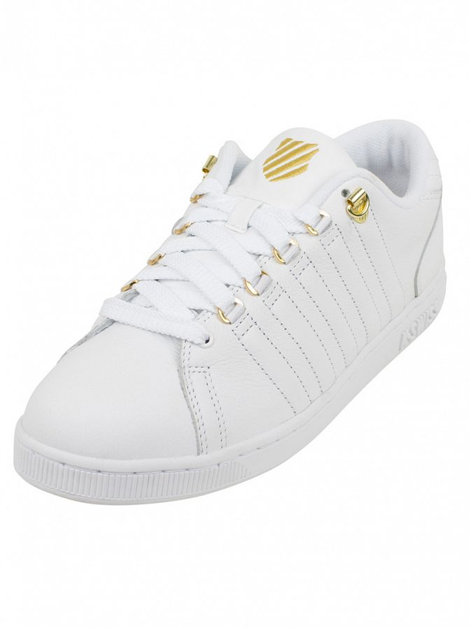 K-Swiss 50TH/White/Gold Lozan III 50th Trainers