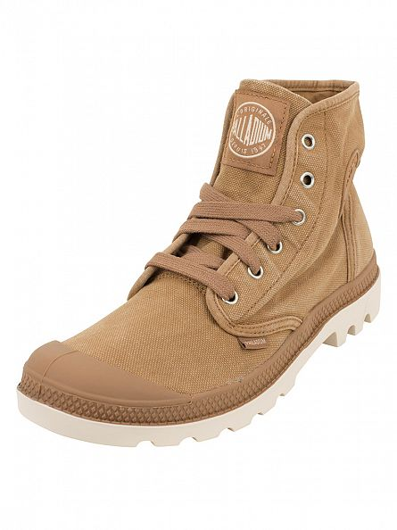 Palladium Brown Pampa HI Boots