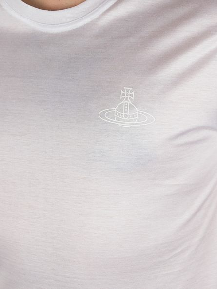 Vivienne Westwood White Plain Logo T-Shirt