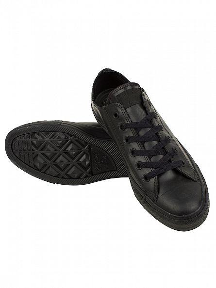 Converse Black/Black CTAS OX Trainers