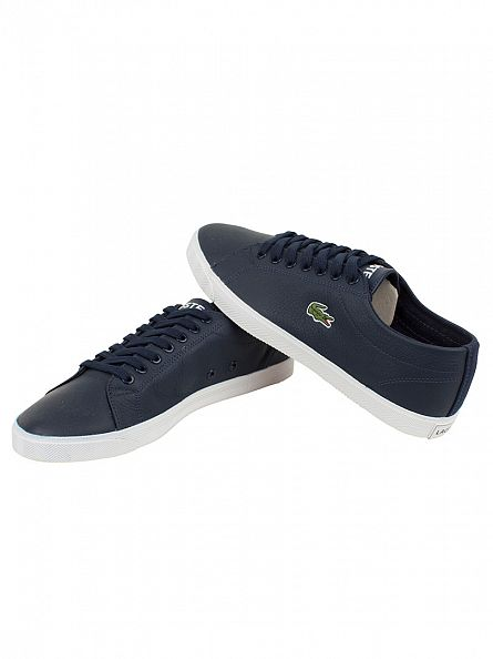 Lacoste Navy/Navy Marcel LCR3 SPM Trainers