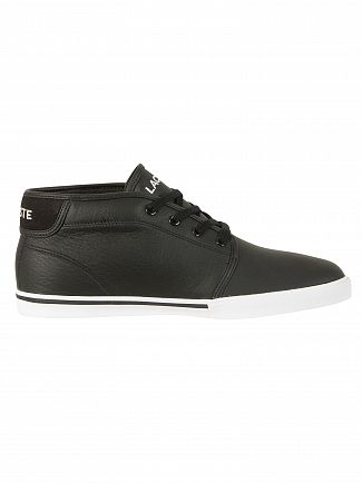 Lacoste Black/Black Ampthill LCR3 SPM Trainers