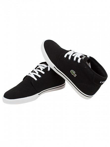 Lacoste Black/Black Ampthill LCR2 SPM Trainers