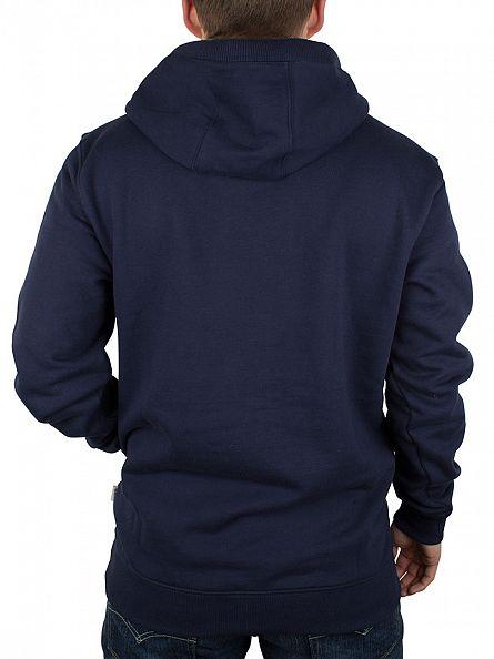 Vans Dress Blue Classic Pullover Logo Hoodie