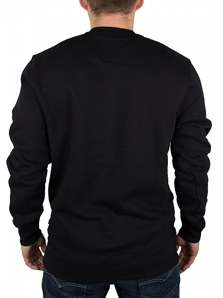 Vans Black/White Logo Sweatshirt
