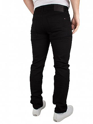 Tommy Hilfiger Denim Black Comfort Scanton Slim Fit Jeans
