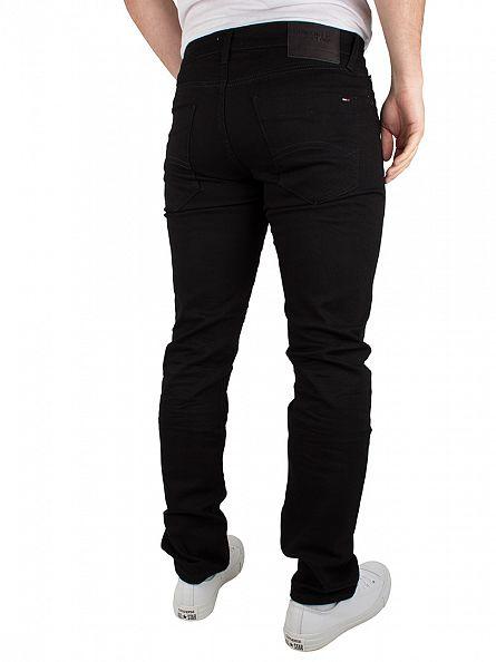 Tommy Hilfiger Denim Black Comfort Scanton Slim Fit Jeans