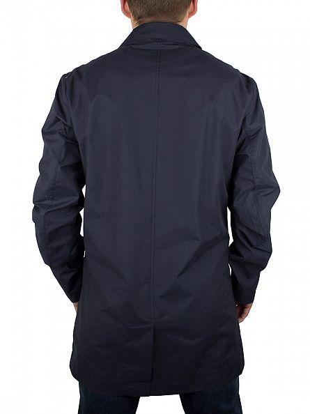 Hilfiger Denim Navy Blazer EUR Trench Coat