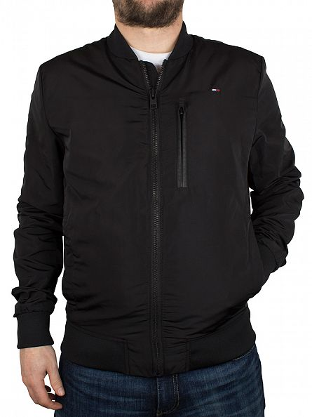 Hilfiger Denim Tommy Black Modern Bomber 3O Jacket