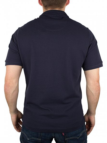 Original Penguin Dark Sapphire Winston Slim Fit Logo Polo Shirt