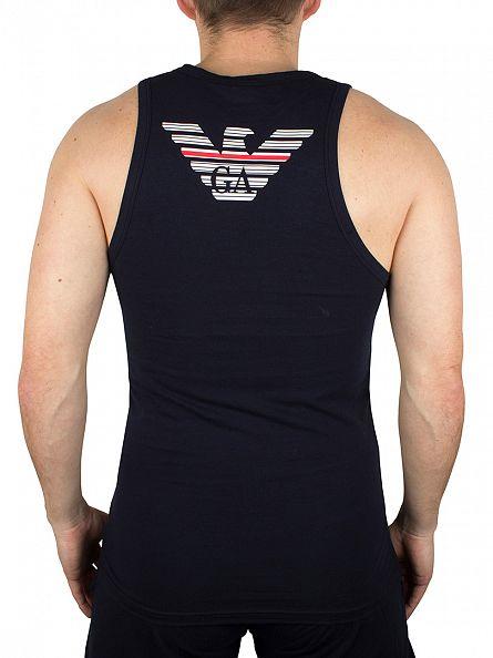 Emporio Armani Marine Logo Vest