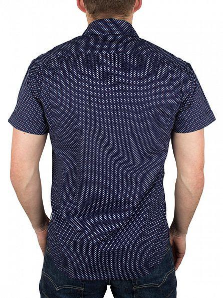 Scotch & Soda Dessin B Shortsleeved Polka Dot Shirt