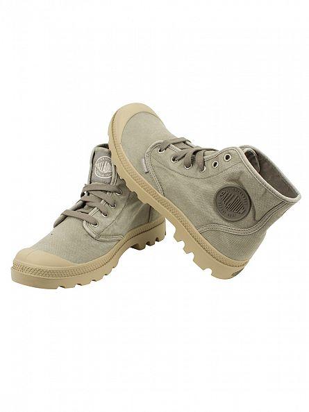Palladium Concrete/Putty Pampa HI Boots