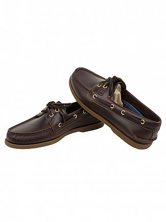 Sperry Top-Sider Amaretto Authentic 2 Eye Boat Shoes