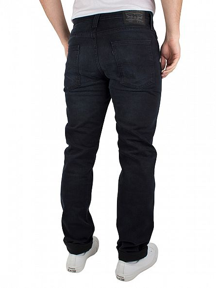 Levi's Dark Wash Line 8 Slim Fit Taper II Stormy Jeans