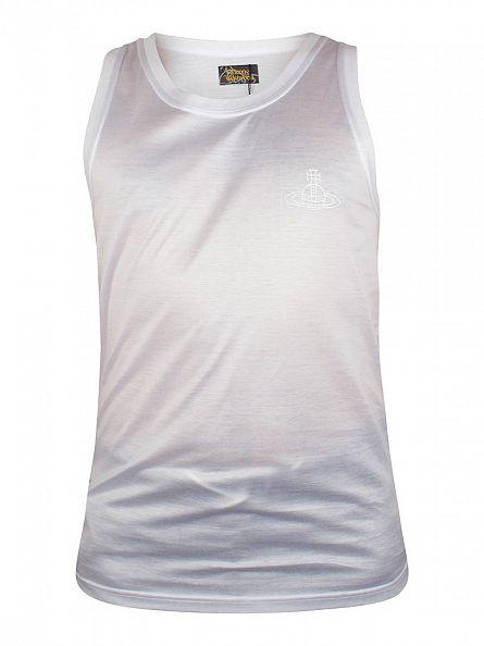 Vivienne Westwood White Plain Logo Vest