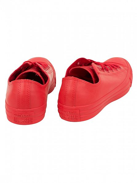 Converse Red/Red/Red CTAS OX Trainers