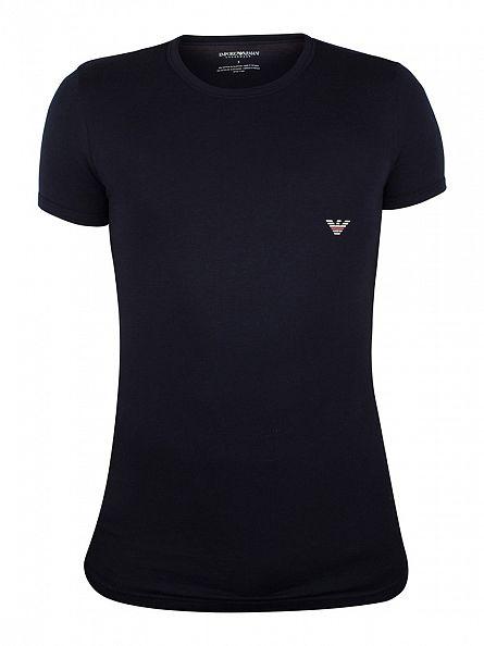 Emporio Armani Marine Logo T-Shirt