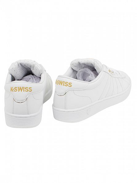 K-Swiss 50TH/White/Gold Hoke 50th Trainers