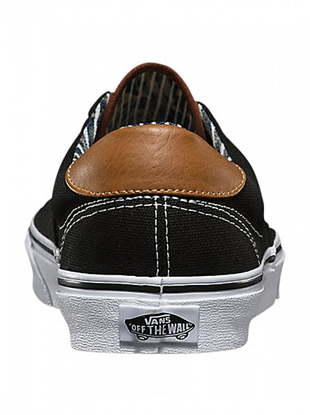 Vans Black/Stripe Denim Era 59 C&L Trainers