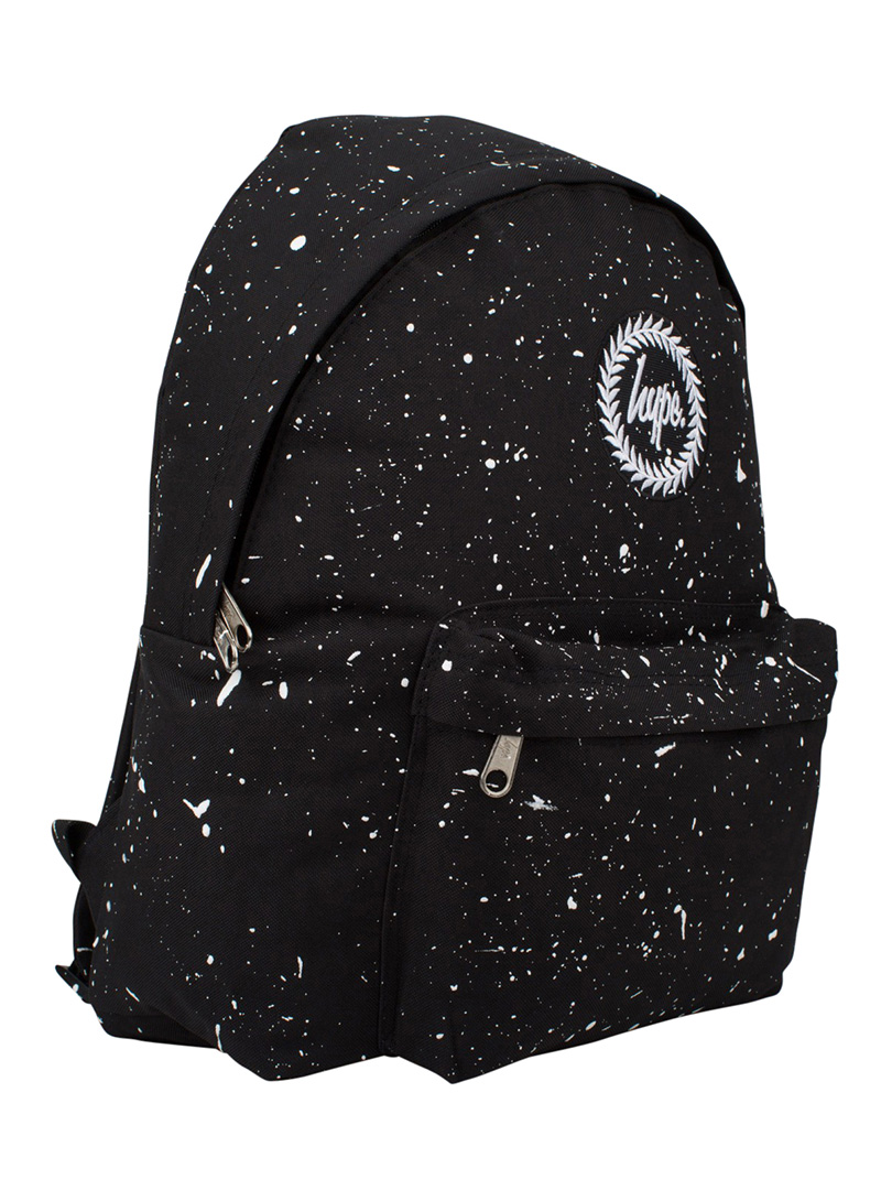 Hype Black White Speckle Backpack  2f85f28790c92