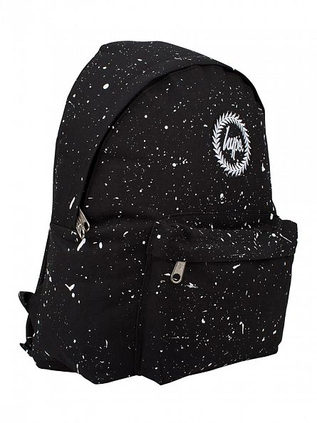 Hype Black/White Splat Backpack