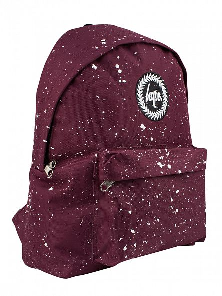 Hype Burgundy/White Speckle Backpack
