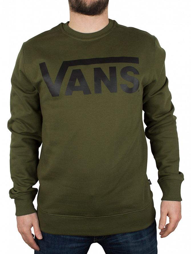 Vans Rifle Green Classic Logo Sweatshirt