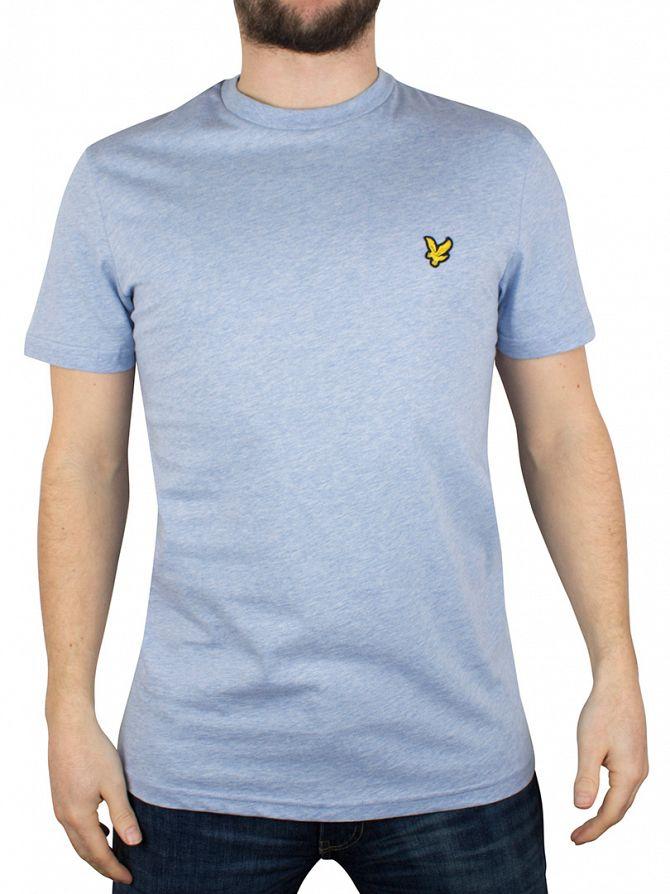Lyle & Scott Blue Marl Logo T-Shirt