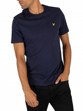 Lyle & Scott Navy Logo T-Shirt