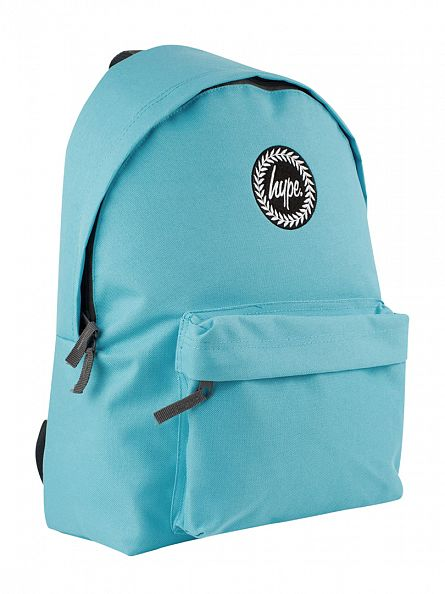 Hype Pastel Blue Logo Backpack