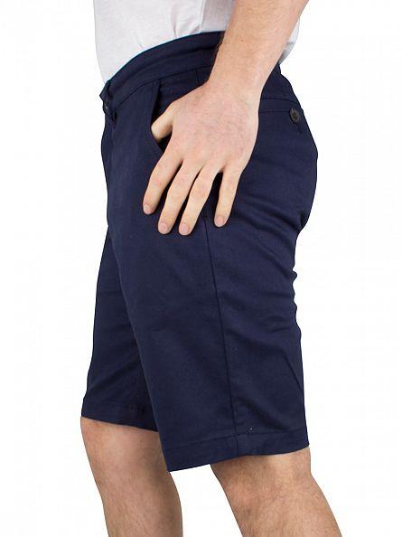 Lyle & Scott Navy Chino Shorts
