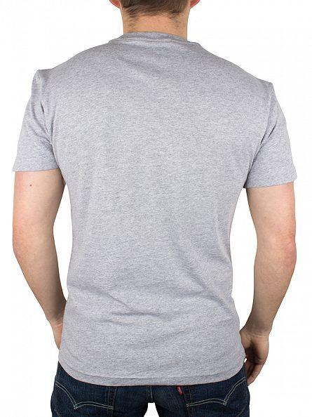 Vans Athletic Heather/Poseidon Marled Classic Logo T-Shirt