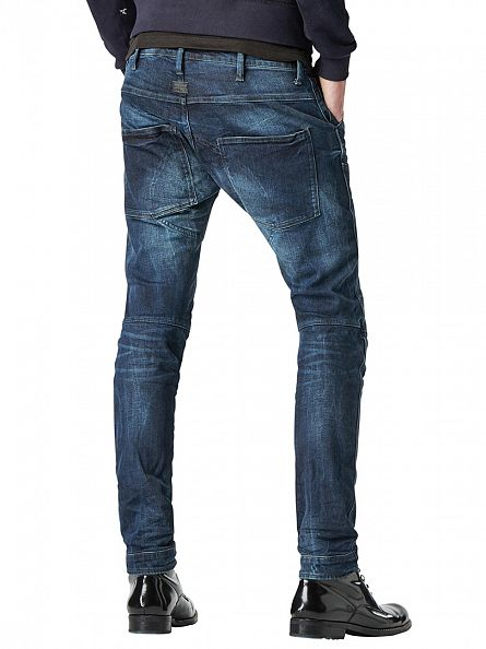 G-Star Dark Aged 5620 3D Super Slim Fit Jeans