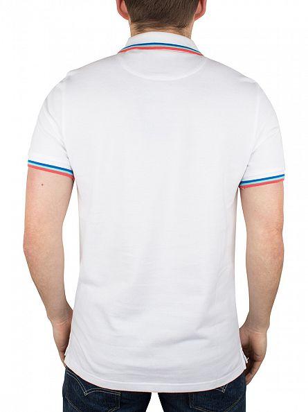 Lyle & Scott White Tipped Logo Polo Shirt