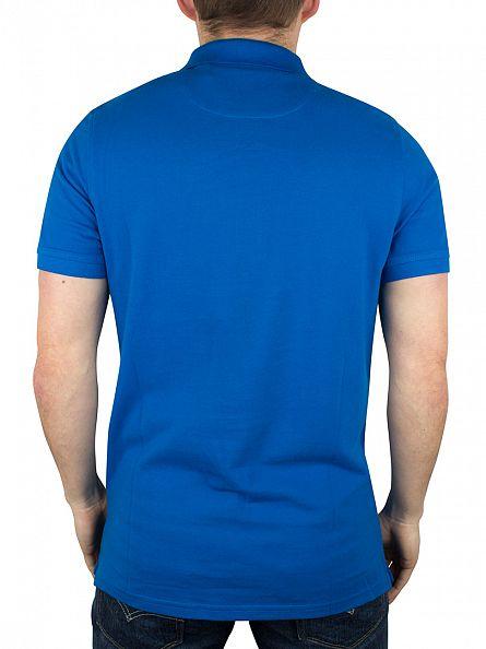 Lyle & Scott Deep Cobalt Logo Polo Shirt