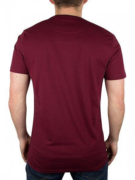 Lyle & Scott Claret Jug Logo T-Shirt