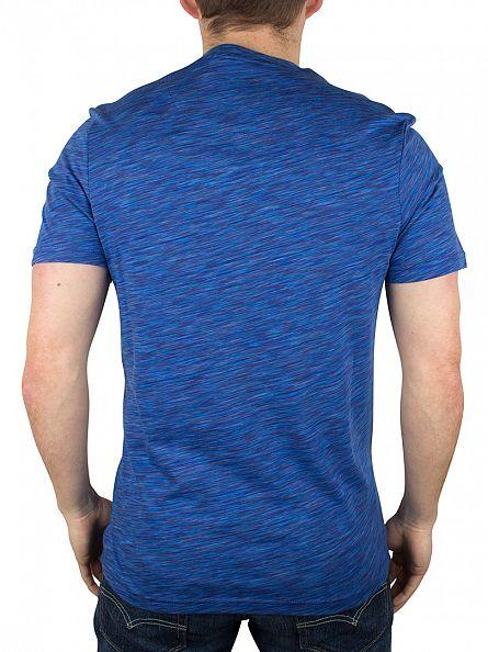 Lyle & Scott Present Blue Space Dye T-Shirt