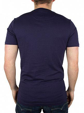 Lyle & Scott Navy Contrast Pocket T-Shirt