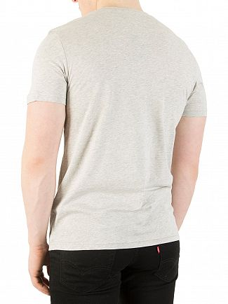 Lyle & Scott Light Grey Marl Logo T-Shirt