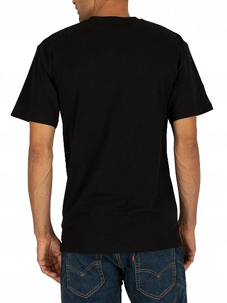 Vans Black/White Classic Logo T-Shirt
