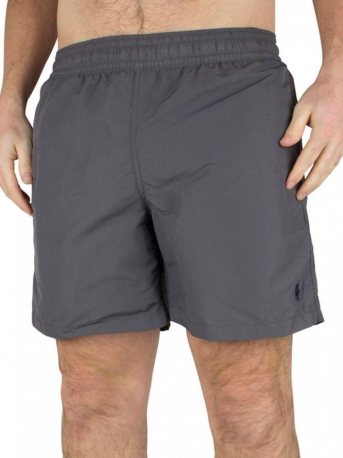 Polo Ralph Lauren Combat Grey Hawaiian Logo Swim Shorts
