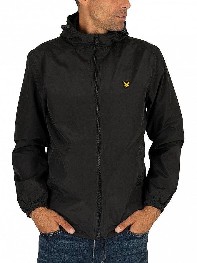 7fd4e78a Lyle & Scott Men's Zip Through Hooded Jacket, Black | eBay