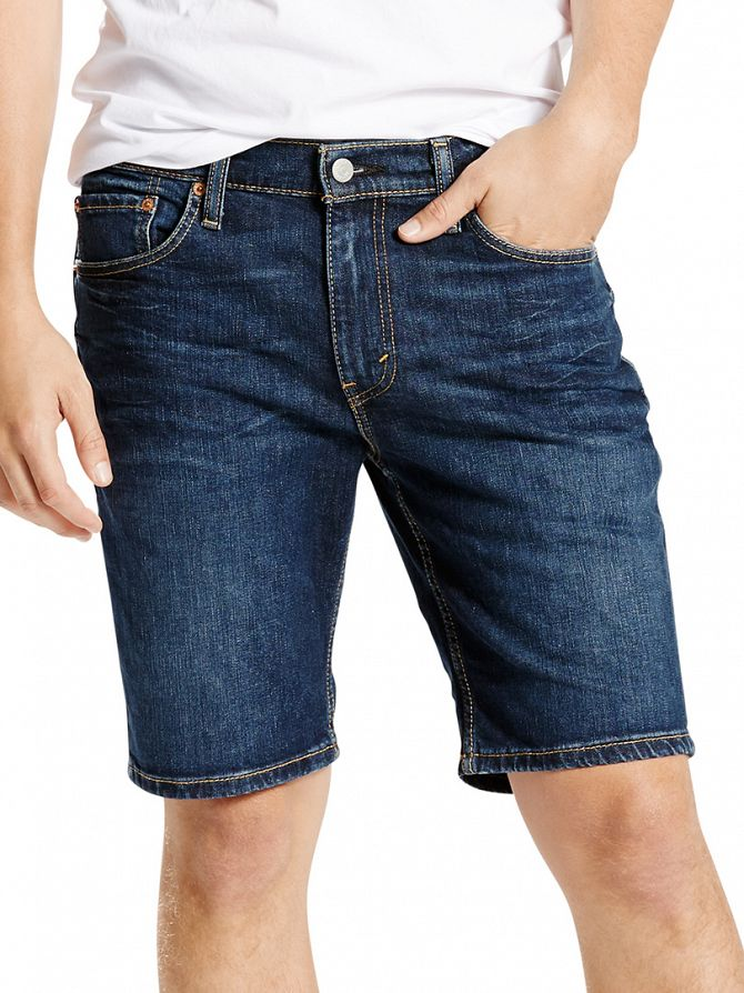 Levi's Dark Denim 511 Slim Diaz Denim Shorts